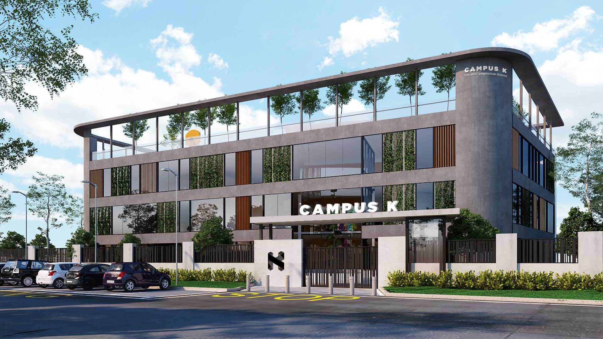 Campus K exterior view