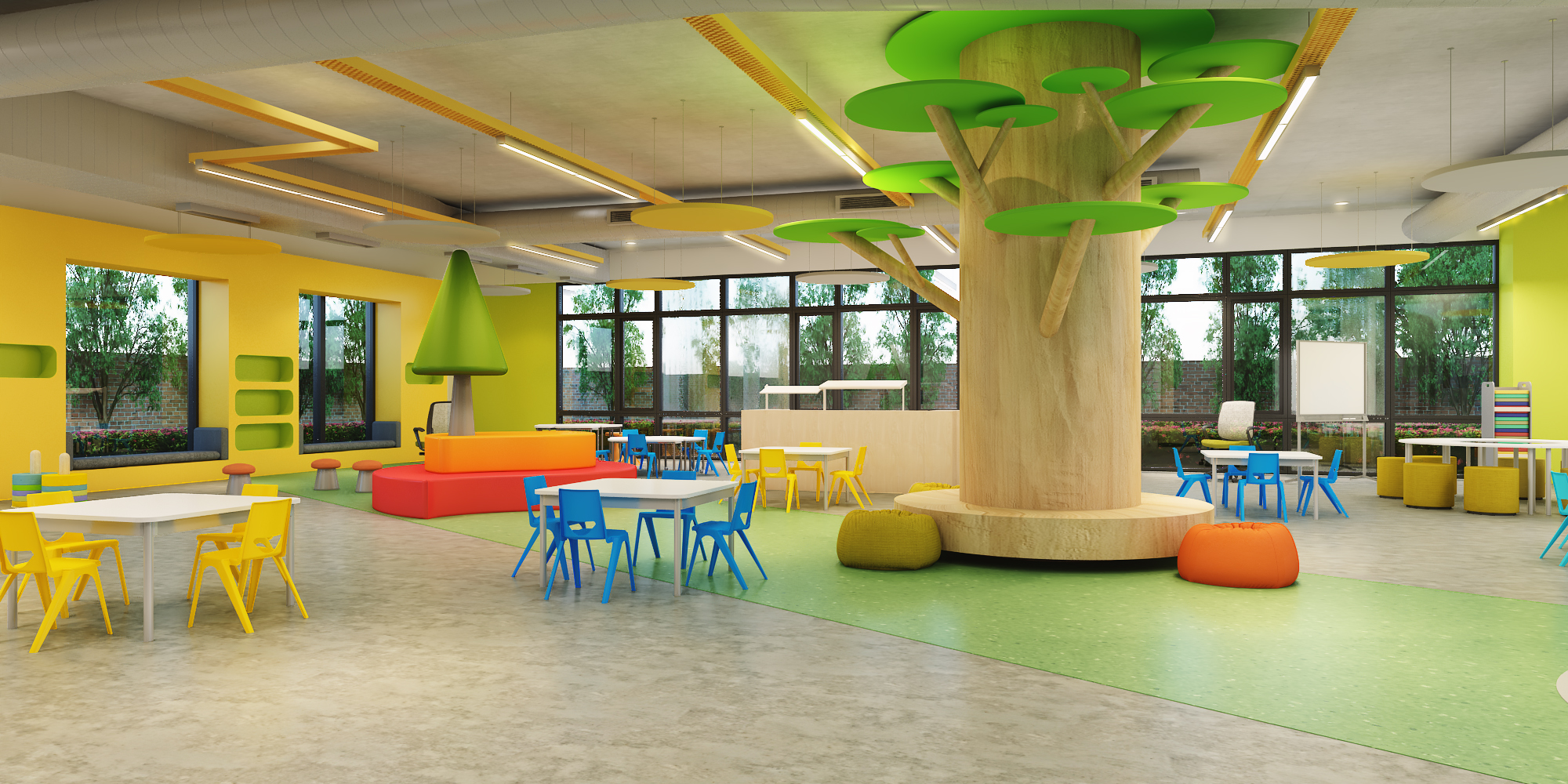Ground Floor - Common Learning Room
